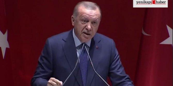 Erdoğan: Bu edepsizlere gereken cevap verilmeli