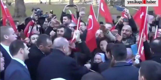 Londra'da Başkan Erdoğan izdihamı!