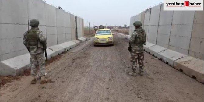Mehmetçikten Tel Abyad'da yeni kontrol noktası
