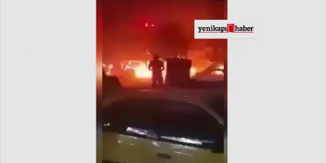 Kasım Süleyman'nin öldürüldüğü saldırı sonrası ilk görüntüler