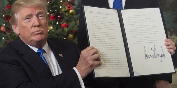 Trump dünyaya duyurdu: Kudüs artık İsrail'in...