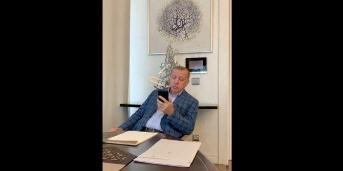 Cumhurbaşkanı Erdoğan Granada'da okunan ezanı dinledi
