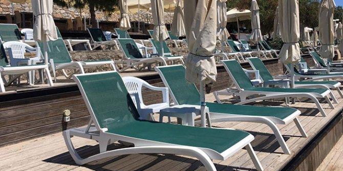 Türkbükü'ndeki otelin günlük şezlong ücreti şoke etti