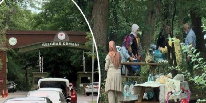 Belgrad Ormanı'na piknikçi akını