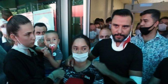 Kaza geçiren Alişan ve ailesi hastane önünde yaşadıklarını anlattı