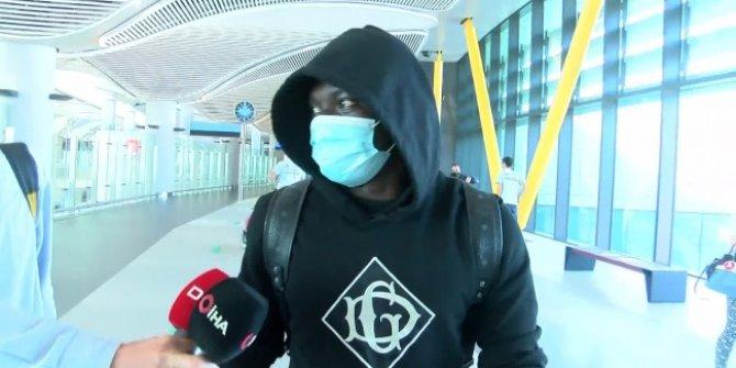 Oghenekaro Etebo, Galatasaray için İstanbul'da
